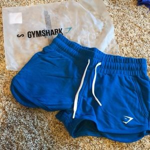 Gym Shark blue shorts